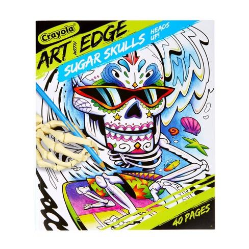 Crayola Art with Edge Sugar Skulls Coloring Book