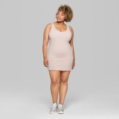 Gray Tank Mini Dress