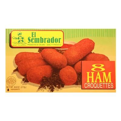 El Sembrador Ham Croquettes - 9.6oz - 8ct