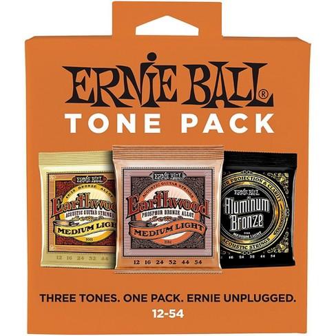 Ernie Ball Ernie Ball Medium Light Acoustic Guitar String Tone Pack - image 1 of 3