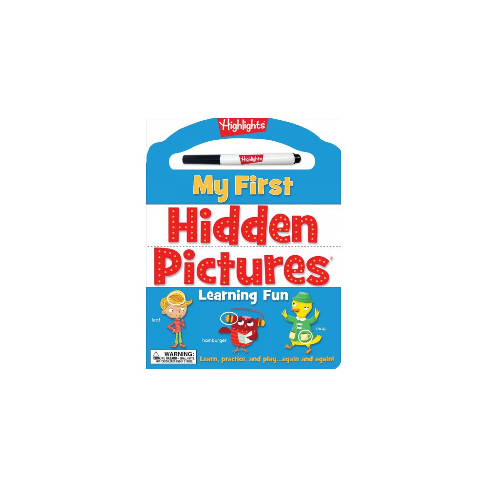 My First Hidden Pictures Learning Fun (Hardcover)