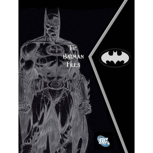 The Batman Files - by  Matthew Manning (Hardcover) - image 1 of 1