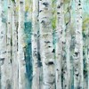 Spring Birches By Studio Arts Wrapped Unframed Wall Canvas - Masterpiece Art Gallery - image 3 of 4