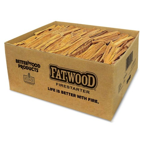 Betterwood Products 9951 Natural Pine Hand Split Fatwood 50 Pound Firestarter - image 1 of 4