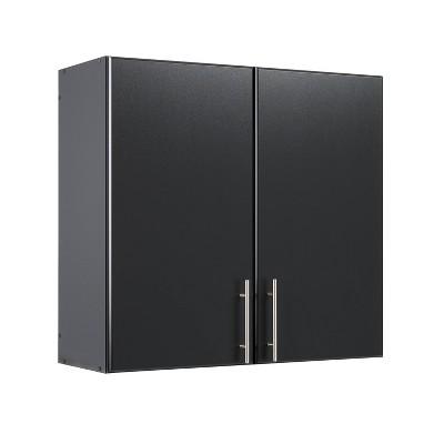 "32"" Elite Wall Cabinet Black - Prepac"