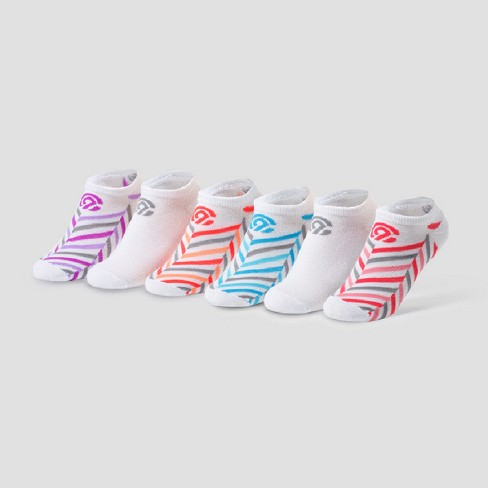 4f5df92b93fb3 Girls  6pk No Show Socks - C9 Champion®   Target