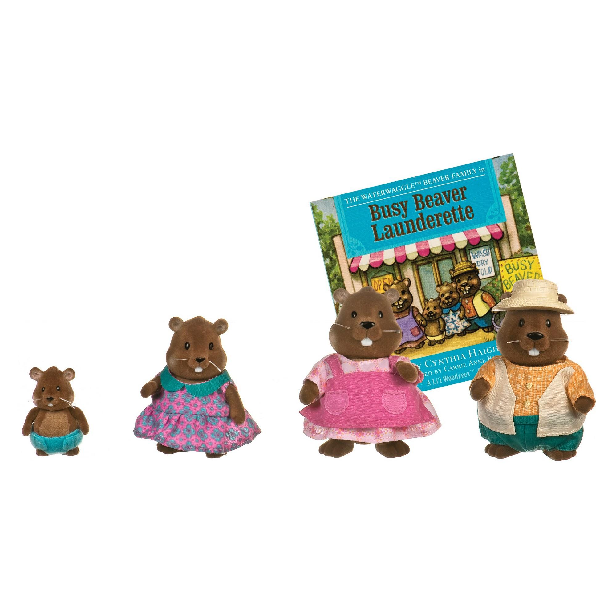 Li'l Woodzeez Family - Beaver