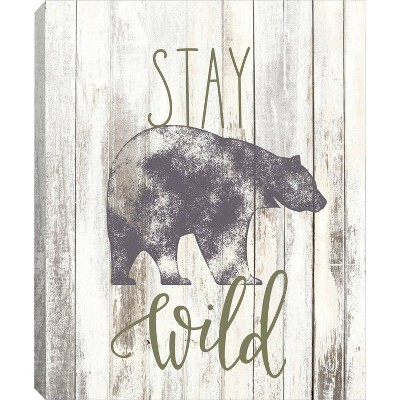RoomMates Framed Wall Poster Prints Stay Wild Wall Art