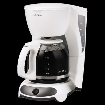 Mr. Coffee Switch 12-Cup Coffee Maker - White