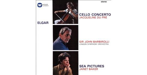 Janet baker - Elgar:Cello cto/Sea pictures/Overture (CD) - image 1 of 1