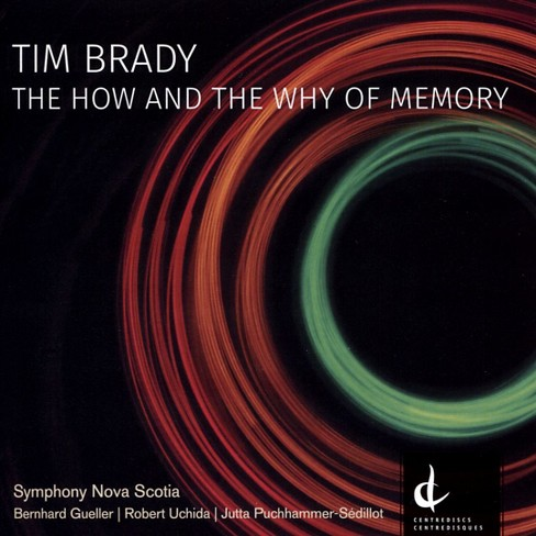 Robert uchida - Brady:How and the why of memory (CD) - image 1 of 1