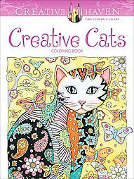 Creative Cats ( Creative Haven) (Paperback) by Marjorie Sarnat