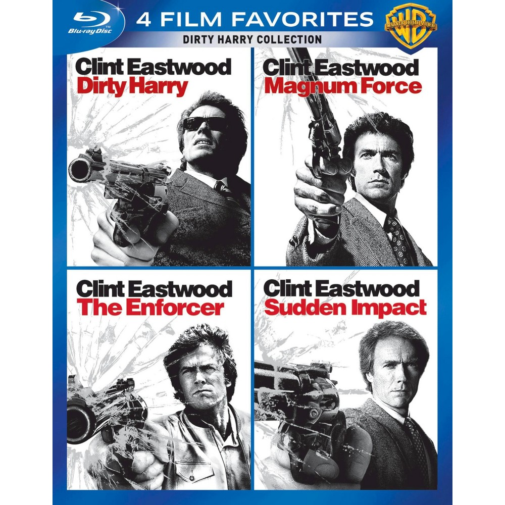 Dirty Harry Collection 4 Film Favorites Blu Ray