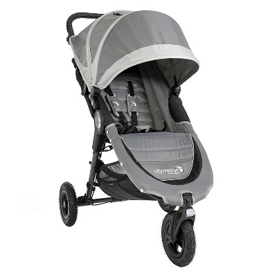 Baby Jogger City Mini GT Single Stroller - Steel Gray