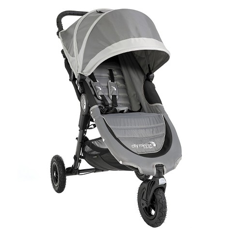 Baby Jogger City Mini Gt Single Stroller Steel Gray