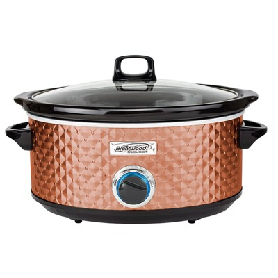 Brentwood Select 7 Quart Slow Cooker in Black