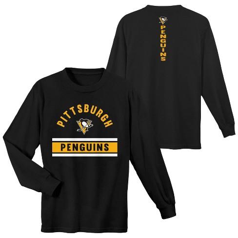 688ed5a6a NHL Pittsburgh Penguins Boys  Warming House Long Sleeve T-Shirt   Target