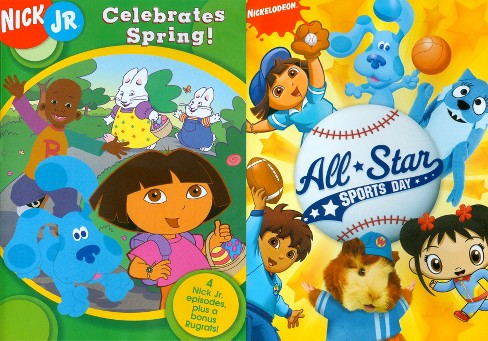 Nick Jr. Celebrates Spring!/All Star Sports Day (2 Discs) (dvd_video) - image 1 of 1