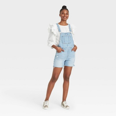 Women's Denim Shortalls - Universal Thread™
