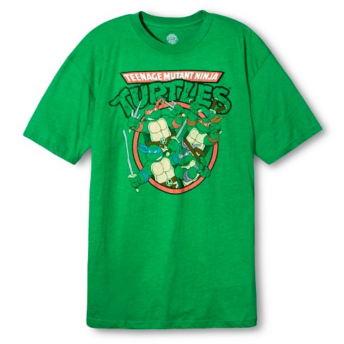 cc03fd7b Men's Teenage Mutant Ninja Turtles® T-Shirt - Green LT : Target