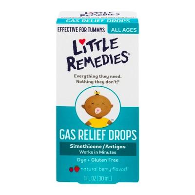 Little Remedies Gas Relief Drops – Natural Berry Flavor – 1 fl oz