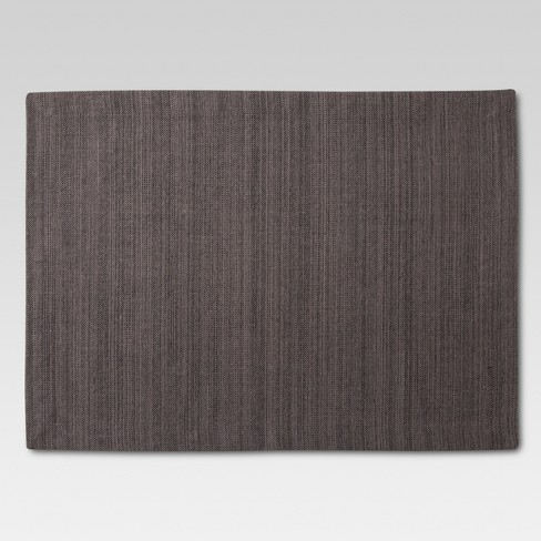"""14""""x18"""" Solid Placemat Gray - Threshold™ - image 1 of 1"""