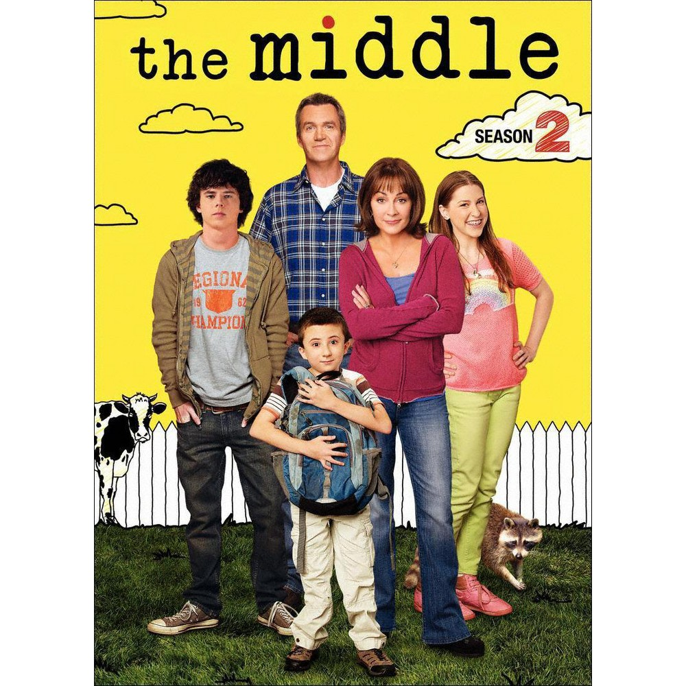 Middle:Complete Second Season (Dvd)