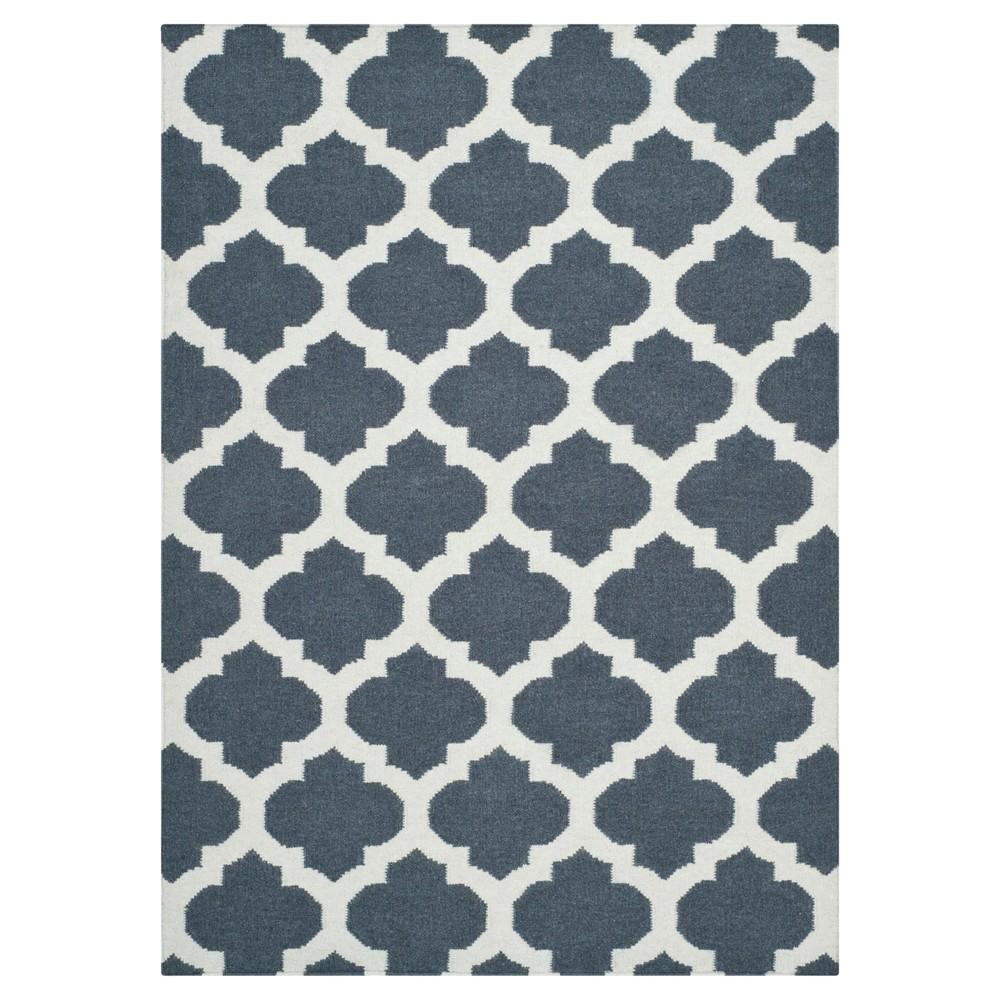 Buy Laleh Dhurry Rug - Blue Ivory - (3x5) - Safavieh