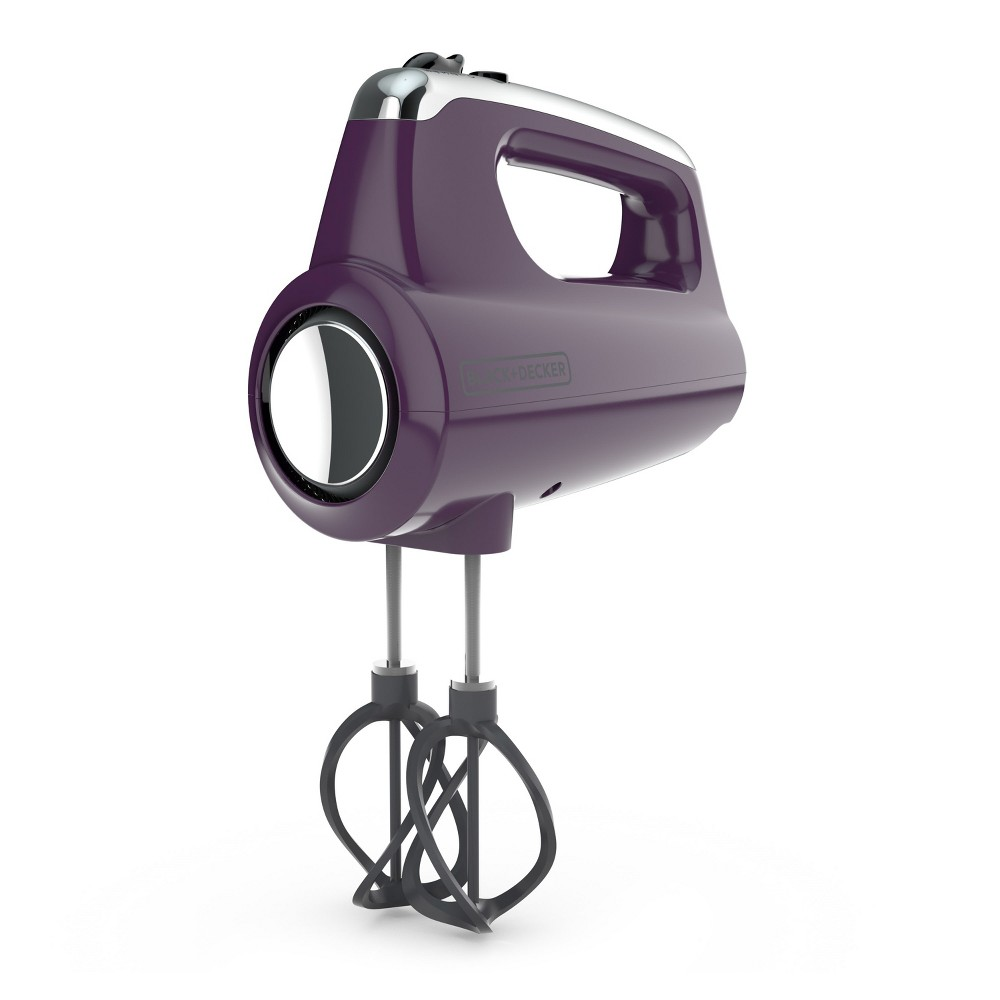Image of Black+decker Helix Hand Mixer - Purple MX600P