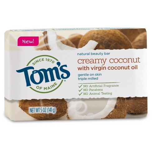 Tom's of Maine® Creamy Coconut Natural Bar Soap - 5oz - image 1 of 1