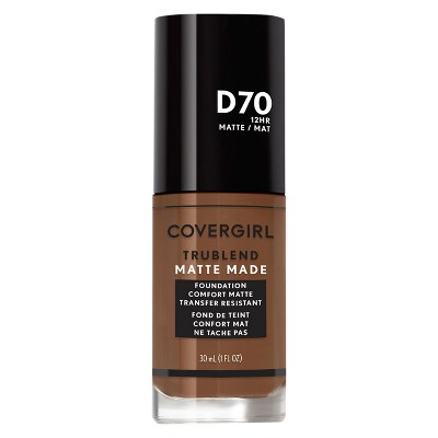 Face Makeup: Covergirl TruBlend Matte Made Liquid Foundation