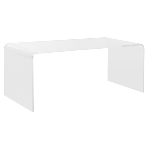 Percy Coffee Table Clear - Safavieh® - image 1 of 2