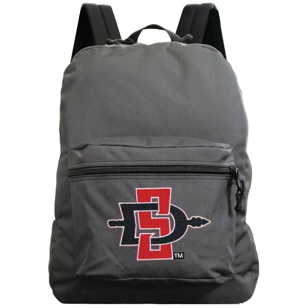 Ncaa San Diego State Aztecs Gray Premium Backpack
