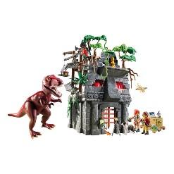 Playmobil Hidden Temple with T-Rex