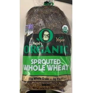 Papa Pita Organic Whole Wheat with Honey - 24oz