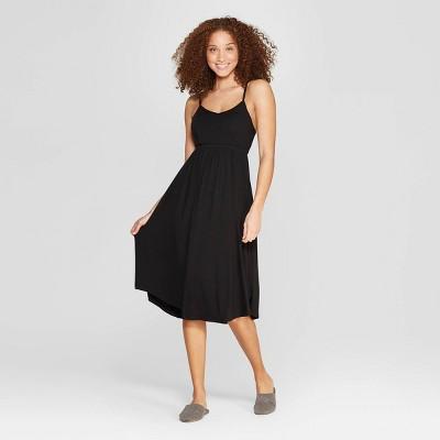 Women's Beautifully Soft Nightgown - Stars Above™ Black M