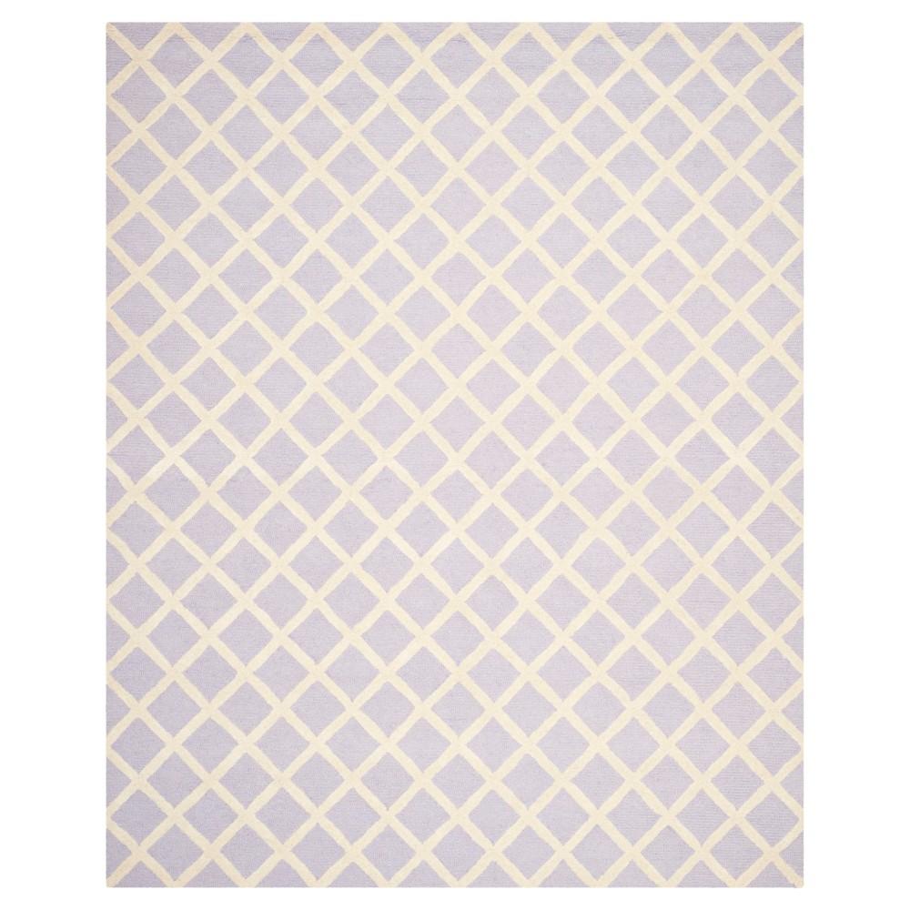 Lavender/Ivory (Purple/Ivory) Lola Rug ( 8'X10') - Safavieh