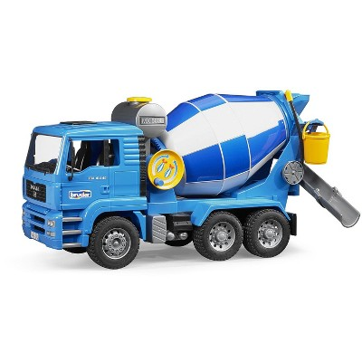 Bruder MAN Cement Mixer with Realistic Turning Mixing Barrel