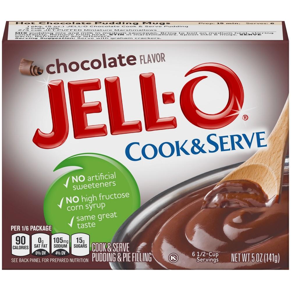 Jell O Cook 38 Serve Chocolate Pudding 5oz
