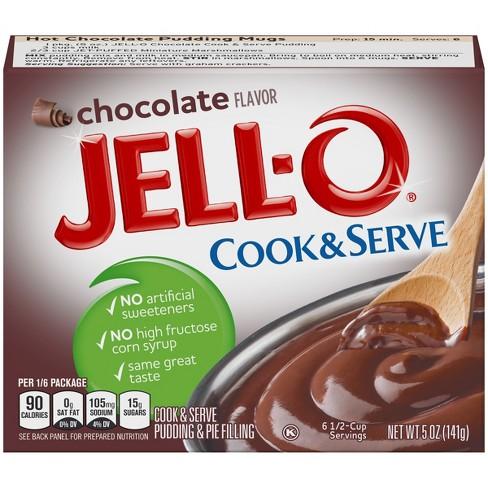 Jell-O Cook & Serve Chocolate Pudding - 5oz - image 1 of 4