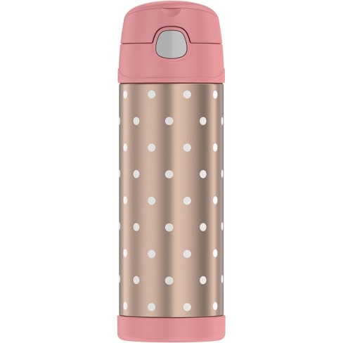 Thermos 16oz Funtainer Water Bottle - Rose Gold Dots - image 1 of 5