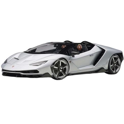 Lamborghini Centenario Roadster Argento Centenario / Matt Metallic Silver 1/18 Model Car by Autoart - image 1 of 4