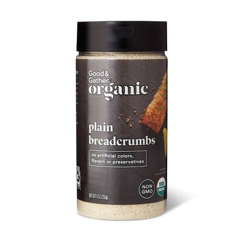 Organic Plain Bread Crumbs - 9oz - Good & Gather™ - image 1 of 2