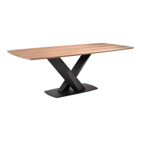 Juneau Contemporary Dining Table Walnut - Modern Home - image 1 of 4