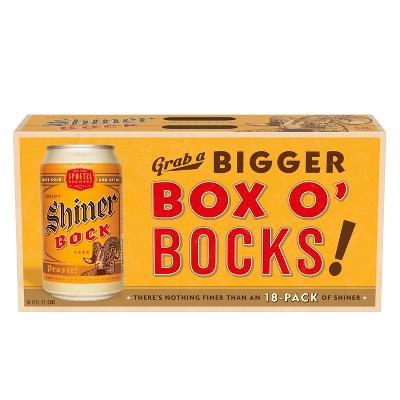 Shiner Bock Beer - 18pk/12 fl oz Cans