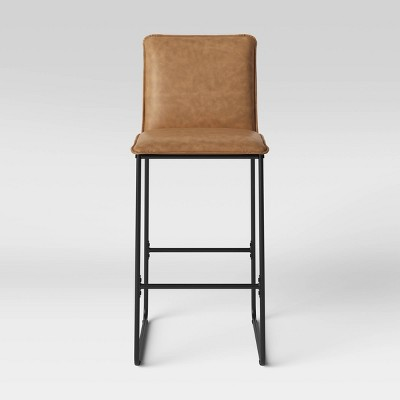 "29"" Upholstered Barstool w/Metal Frame - Room Essentials™"