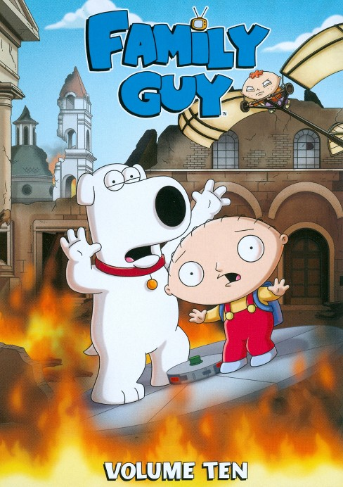 Family Guy, Vol. 10 (3 Discs) (dvd_video) - image 1 of 1