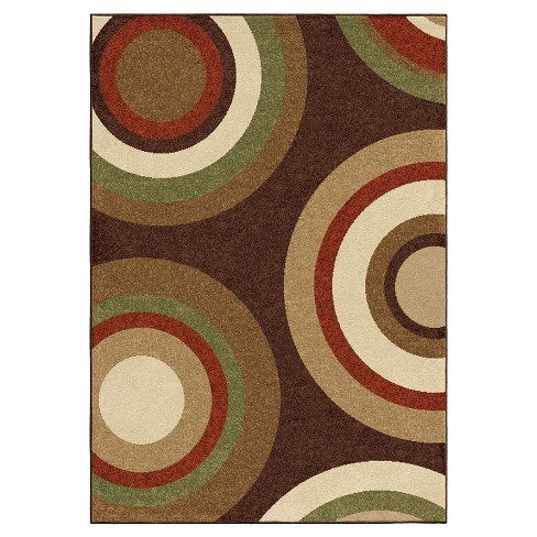 Orian Rugs Sequoia Napa Indoor/Outdoor Area Rug - Brown - image 1 of 5
