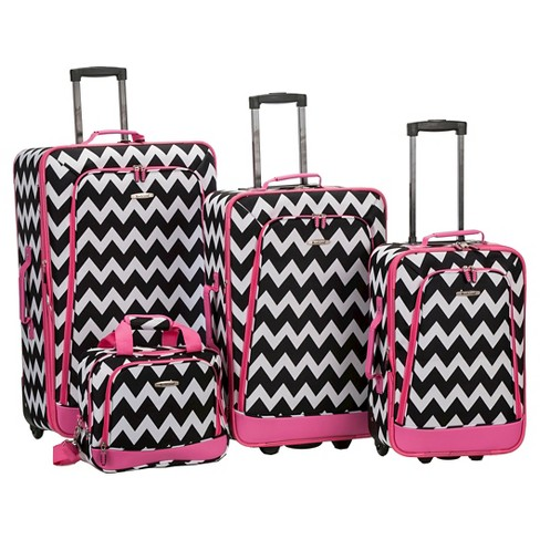 Rockland Escape 4pc Luggage Set - image 1 of 1