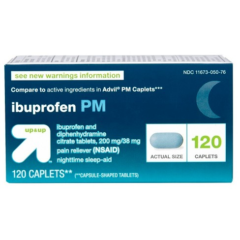 Ibuprofen Nsaid Pm Extra Strength Pain Reliever Nighttime Sleep